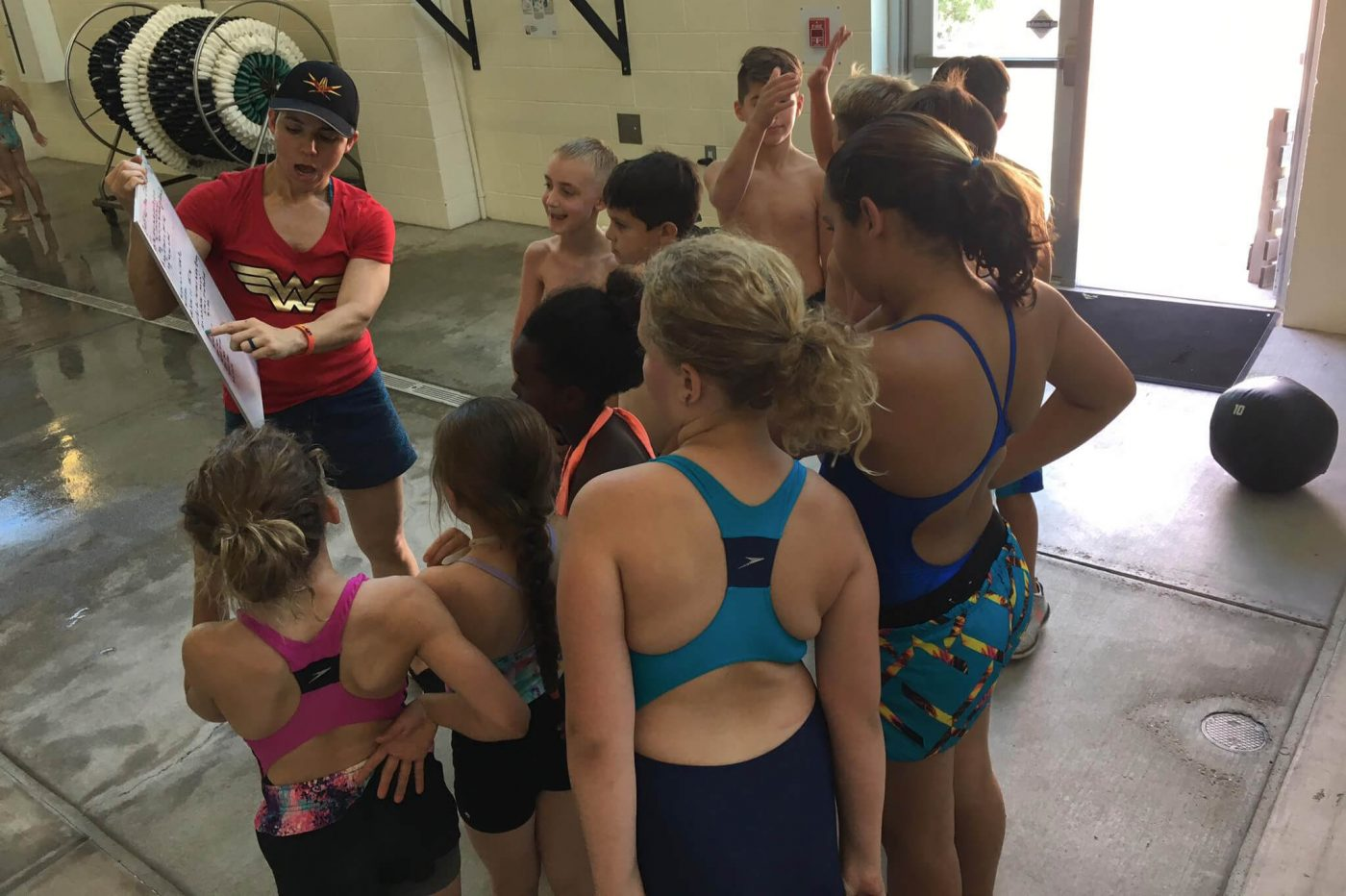 CrossFit Kids/Teens Swim Workout of The Day