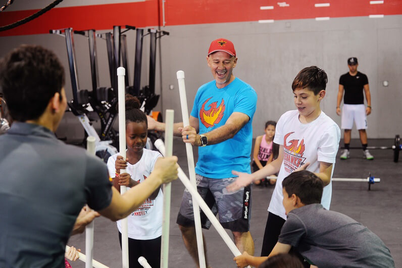 CrossFit Supporting Our Youth - CrossFit Kids Class